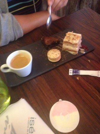 Iséo : Café gourmand
