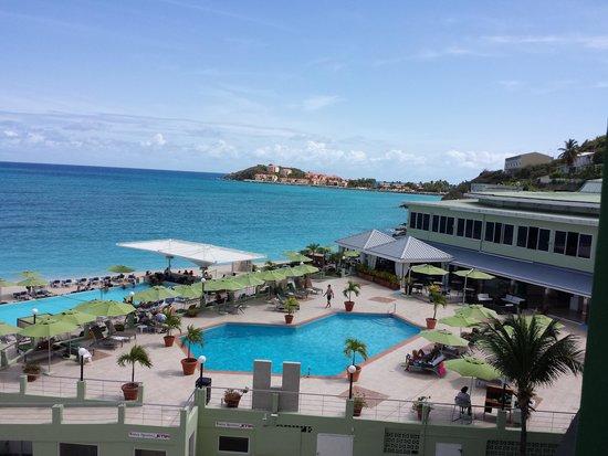 Sonesta Great Bay Beach Resort, Casino & Spa: view from 5th floor