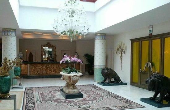 Terme Manzi Hotel & Spa : Lobby Terme Manzi