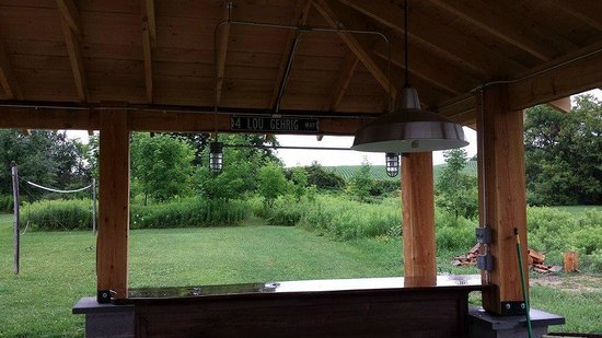 The Meadowlark Inn Cooperstown: Grill bar area