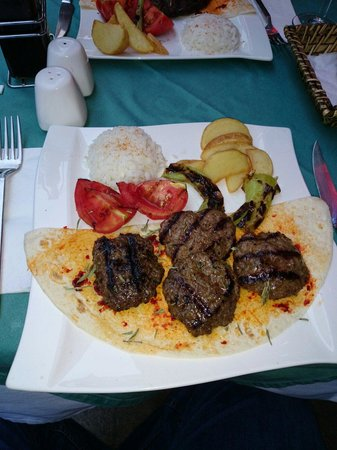 Antiochland Cafe & Restaurant : The Grilled meatballs were the best