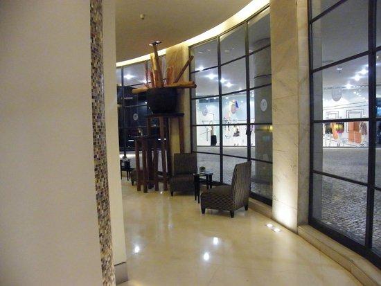 NH Lisboa Liberdade : hall to the reception