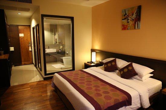 Aonang Cliff Beach Resort: Ocean View Room
