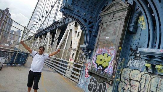Manhattan Bridge: Pedalada do Brooklim a Manhatan