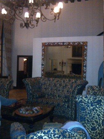 Le Grand Hotel de l'Abbaye : salon