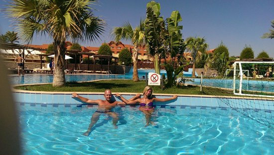 Sharm Grand Plaza: Главный бассейн.