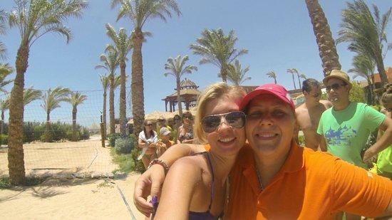 Sharm Grand Plaza: Ольга - анимашка. Гипер позитивчик!