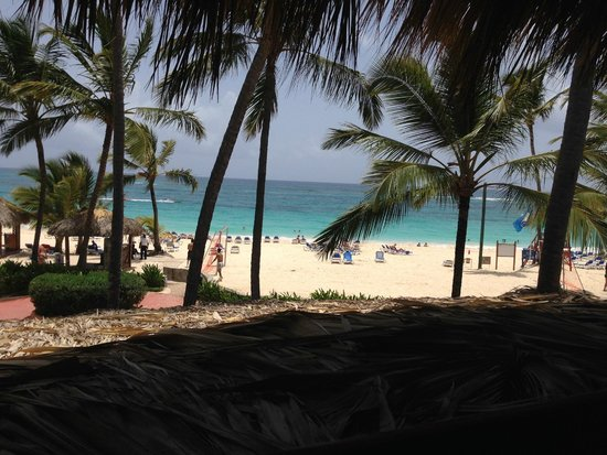 Occidental Caribe: From the pizza restaurant