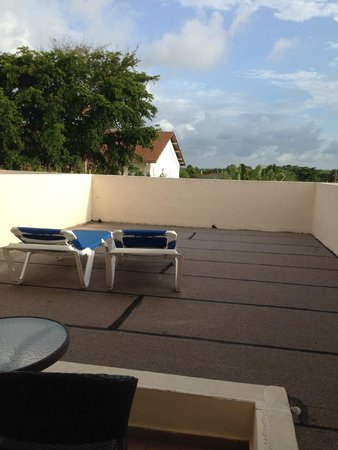 Occidental Caribe: Or balcony not all of them look like this we lucked out and partied on it