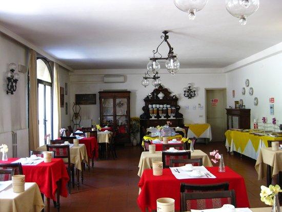 Hotel Crocini : kahvaltı salonu