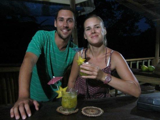 Roots Jungle Retreat : apero punch