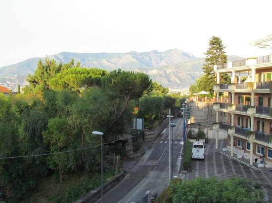 Tui Sensimar Atlantic Palace : View down the road from our balcony