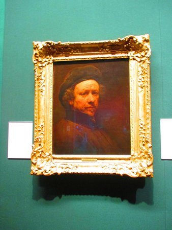 Scottish National Gallery: Rembrandt - who else could it be?!