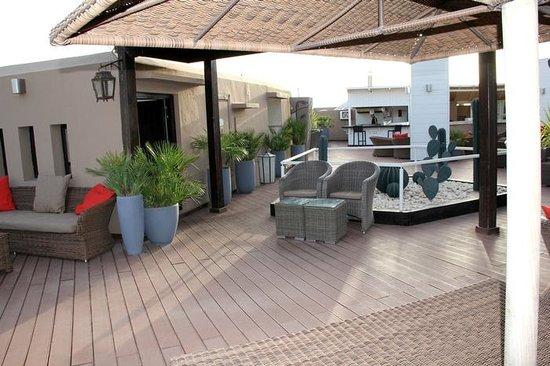 Hivernage Hotel & Spa: Bar sur le toit