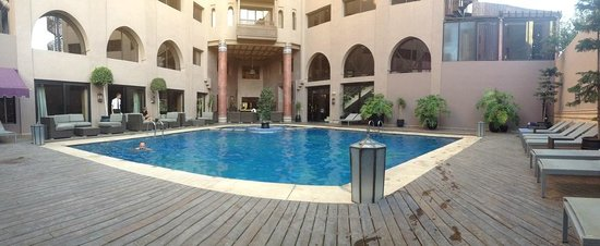 Hivernage Hotel & Spa : Piscine