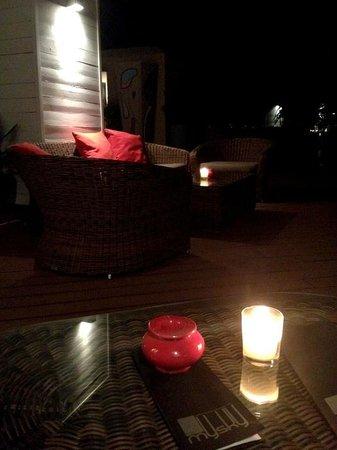 Hivernage Hotel & Spa : Bar sur le tot