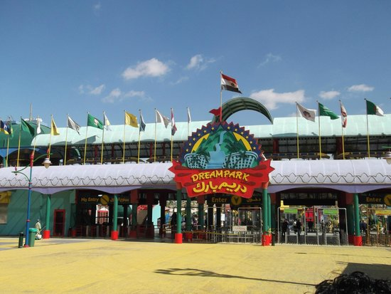 "Gizeh, Egypte: Parco divertimenti ""Dream Park"""