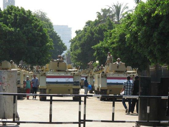 Liberation Square (Midan El-Tahreer): x
