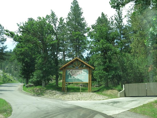 K Bar S Lodge: Entrance to lodge
