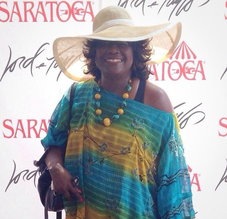 Saratoga Race Course: The L&T pavilion at Saratoga