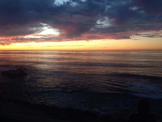 La Jolla Cove: sunset