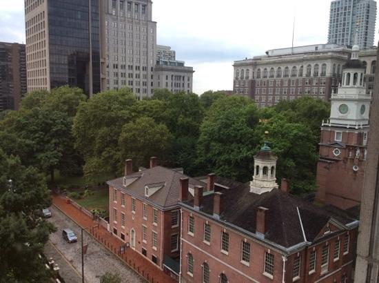 Hotel Monaco Philadelphia, a Kimpton Hotel: view from room on the 8th floor