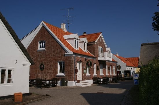 Kromanns Hotel & Restaurant : Kromanns Hotel set udefra
