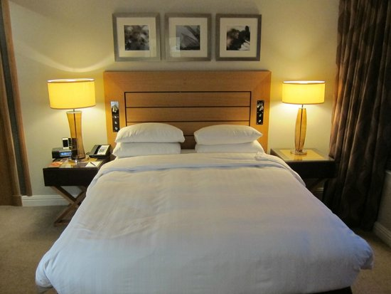 London Hilton on Park Lane: King Bed in standard room