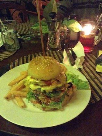 Mangoes: Burger