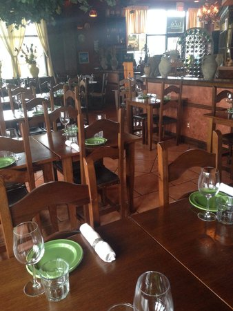 Luca's Ristorante: The inside of Lucas is very comfortable