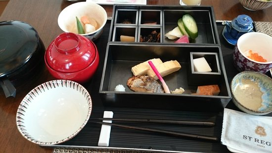 The St. Regis Osaka : Japanese breakfast set (not on the English Menu)