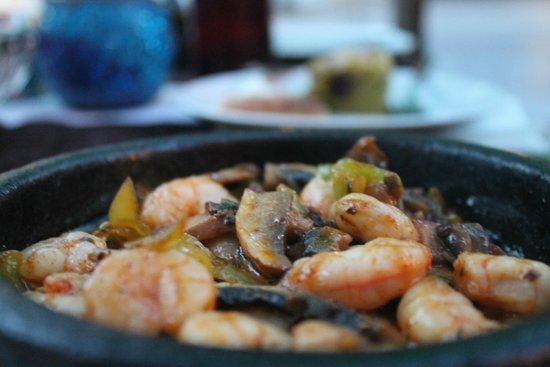 Hippodrome Restaurant : the shrimp sautee. so delicious!