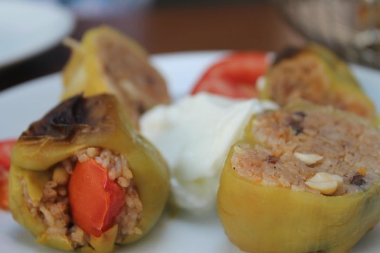 Hippodrome Restaurant : the stuffed peppers