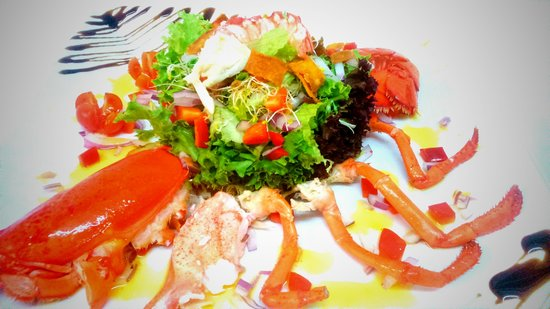 Rififi : ensalada de bogavante