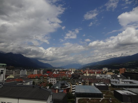 Hilton Innsbruck: View from room
