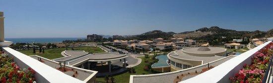 La Marquise Luxury Resort Complex : Vue du 3ème étage depuis notre chambre