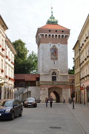 St. Florian's Gate (Brama Florianska) : OUT OF THE OLD TOWN.