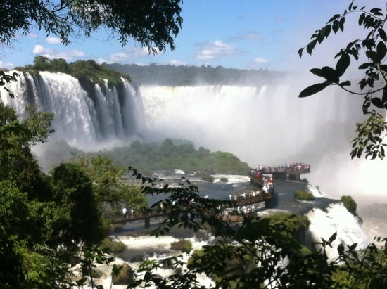 South America: Garganta do Diabo By Silvano de Oliveira Tour Guide Iguassu Falls