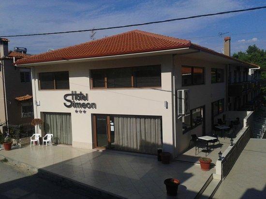 Hotel Simeon: Η ρεσεψιόν του ξενοδοχείου
