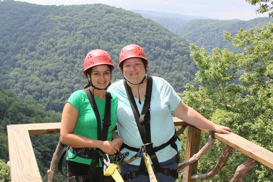 Zipline Platform Picture Of Ace Adventure Resort Day Tours Oak
