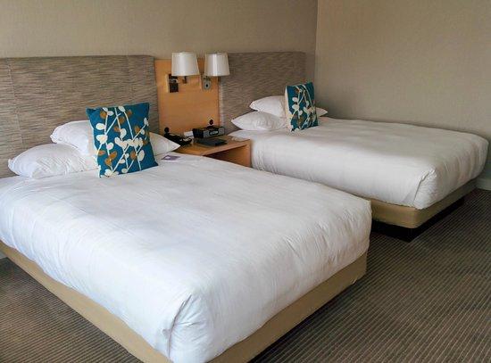 Hyatt Regency Long Beach: Double beds