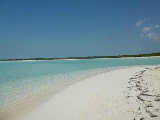 Playa Paraiso hace honor a su nombre