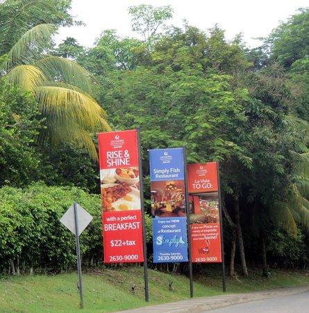 Los Suenos Marriott Ocean & Golf Resort: Signs