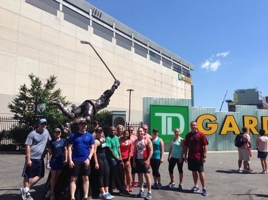 City Running Tours - Boston : TD