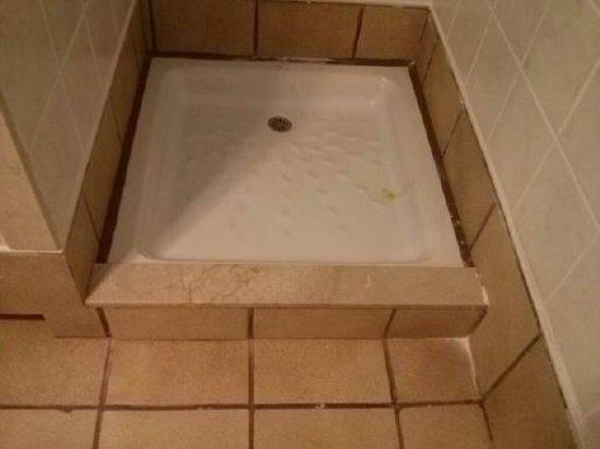 Pueblo Marinero: Plato ducha