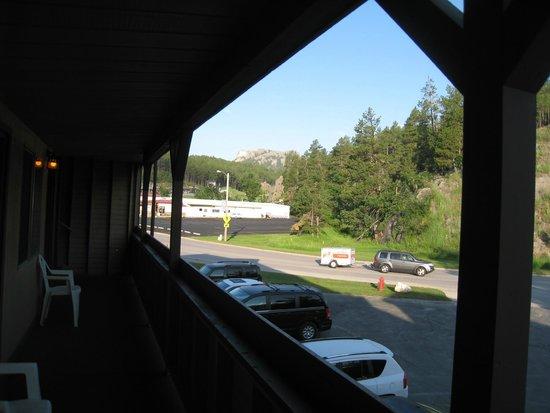 Travelodge Mt. Rushmore/Keystone: View from room balcony