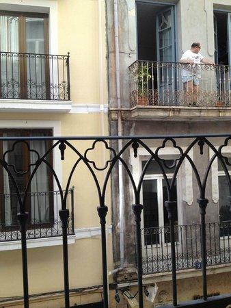 Hospes Amerigo: picturesque view from my room - вид из номера, класс?