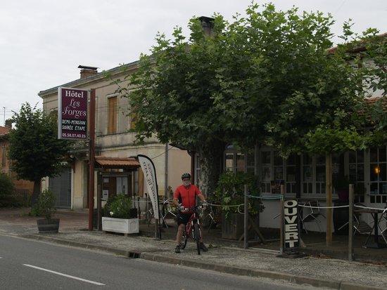 Pontenx-les-Forges, Francia: llegada al hotel