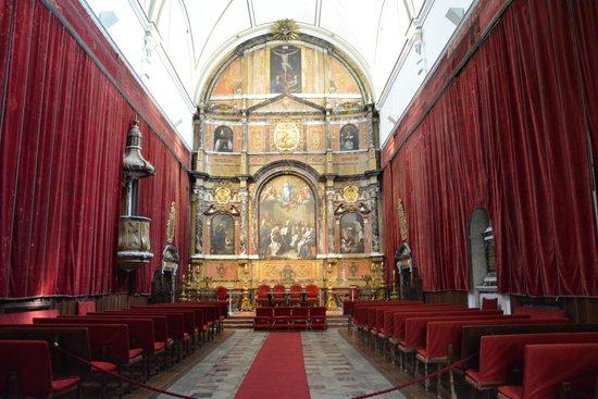 Universidad de Salamanca: Capilla