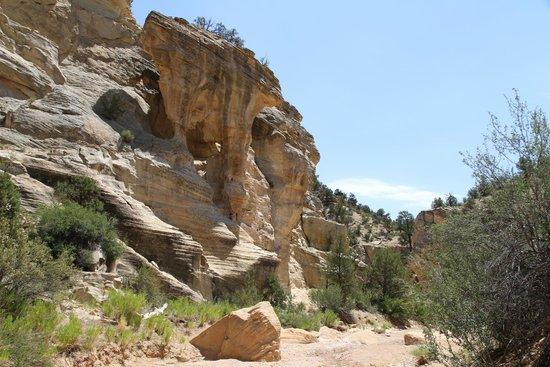 Easy access slot canyons utah